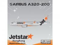 A320 (sharklets) Jet Star Hongkong B-KJA