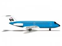 BAC-1-11 Braniff International (blue)
