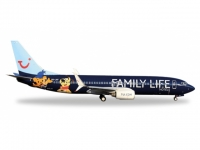 "Boeing 737-800 Jetairfly OO-JAF ""Family Life Hotels"""