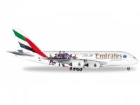"""A380 Emirates A6-EOT """"Paris St Germain"""""""