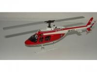 Bell Jet Ranger Schweizerische Rettungsflugwacht HB-XCU
