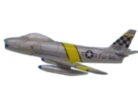F-86 Sabre USAF FU-910