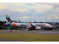"A320 Jet Star ""Kungfu Panda 3"" VH-VFX"