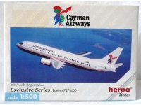 Boeing 737-400 Cayman Airways (in Sammlerbox)