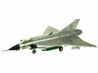 Draken Swedish Air Force / Natural metal scheme