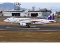 """A320 HK Express """"Ritsurin Garden"""" B-LCB"""