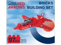 Red Arrows Bricks Building Set