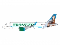 "A320neo Frontier ""Champ the Bronco"" N307FR"