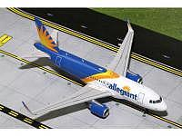 A319 Allegiant (new livery, sharklets)
