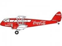 """D.H.84 Dragon """"enjoy Coca Cola"""" VH-AQU"""