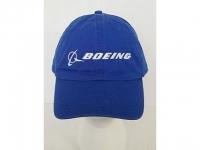 Boeing Cap Blau (ohne weissen Rand)