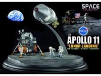 "Apollo 11 Lunar Landing CSM ""Columbia"" + LM ""Eagle"" + Astronauts"