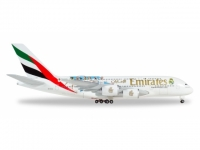 "A380-800 Emirates ""Real Madrid"" A6-EUG 1:500"