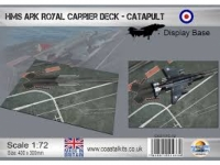 Diorama HMS Ark Royal Carrier Deck (Catapult)
