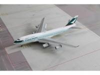 "Boeing 747-400 Cathay Pacific ""Nick & Simon"" B-HUI"