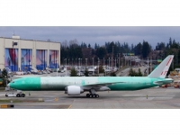 Boeing 777-300ER, Swiss 777-300, Green Livery, HB-JNJ