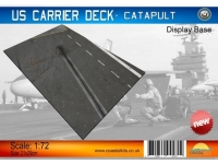 Diorama US Carrier Deck Section Catapult