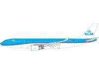 A330-200 KLM PH-AOM (1:400)