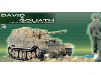 Diorama: Elefant und Panzerabwehrsoldat