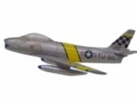 F-86 Sabre USAF (silber)  1:112