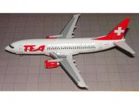 "Boeing 737-300 TEA Switzerland HB-IIB ""Isle of Avalon"""