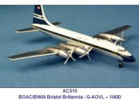 Bristol Britannia BOAC/BWIA G-AOVL