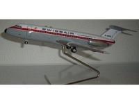 BAC-1-11 Swissair G-ATVH 1:100