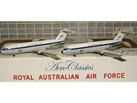 BAC-1-11 RAAF Set 2 Modelle A12-125 & A12-124