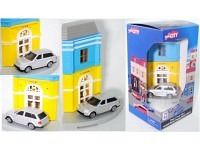 Herpa City Post mit Range Rover Sport