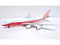 Boeing 747-8I Boeing Livery red