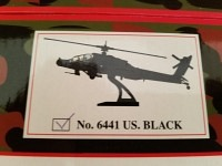 AH-64 Apache US black