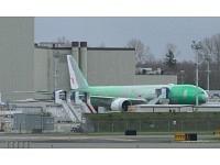 Boeing 777-300ER, Swiss 777, HB-JNB, Green Livery