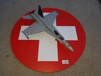 Diorama Circular Display Base Swiss Air Force Large