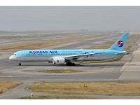 "Boeing 787-9 Korean Air ""50th years"" HL8082"