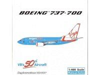 "Boeing 737-700 Virgineblue ""VB's 50th Aircraft"" VH-VBY"