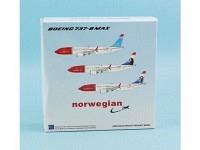 Boeing 737MAX-8 Norwegian LN-BKC
