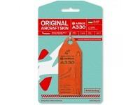 "Original Aircraft Skin - Aviationtag - A330 Wind Rose UR-WRQ ""Red"""