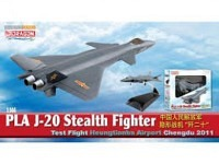 J-20 Stealth Fighter Test Flight
