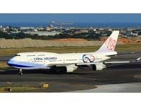 """Boeing 747-400 China Airlines """"60th"""" B-18215"""