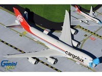 "Boeing 747-8F Cargolux LX-VCF ""Not without my mask"" - Optional doors open / closed configuration"