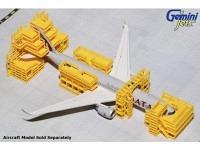 Flughafen Wartungsgerüst GeminiJets