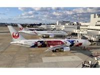 """Boeing 767-300ER Japan Airlines JAL JA622J """"Dream Express Fantasia 80"""""""