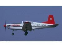 PC-7 Swissair (Schweizerische Luftverkehrsschule) HB-HOO