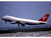 Boeing 747-200 Qantas VH-EBA (polish livery)