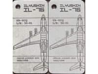 Fuselage Creations Tag - IL-76 Weiss