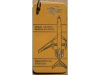 Fuselage Creations Tag - Tu-154 Yellow