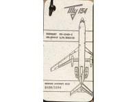 Fuselage Creations Tag - Tu-154 White / Blanc