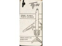 Fuselage Creations Tag - Tu-154 White