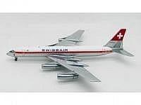 "CV-990 Coronado Swissair HB-ICC ""St. Gallen"""