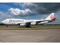 Boeing 747-400 Dragonair Cargo B-KAF